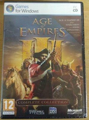 PC-GAME 世紀帝國3完全版/世紀帝國3完全版英文版/世紀帝國III 有中文化教學