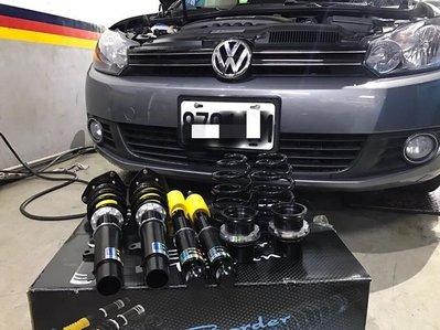 MS改避震【 Border 寶島避震器  VW GOLF 專用 】