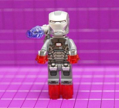 [樂高人偶]超級英雄系列_76006_War Machine_sh066