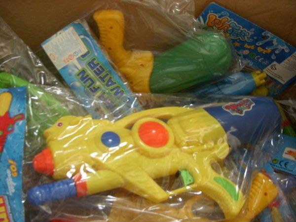小猴子玩具鋪~~ 炎炎夏日來玩水唷~單孔加壓連續水槍(35*17cm)~不挑款~~售價:60元/款