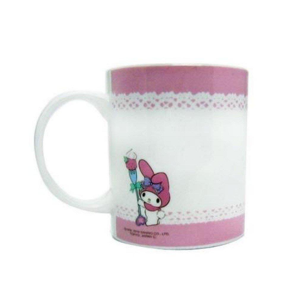佳佳玩具 --- 日本進口 三麗鷗 正版授權 美樂蒂 可DIY 繪圖馬克杯 陶瓷 水杯 杯子 附筆【3742219】