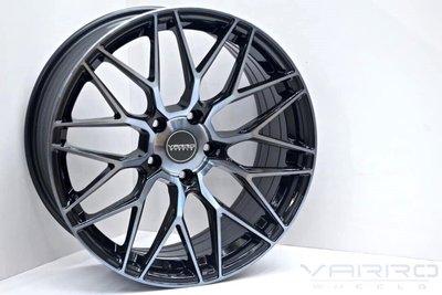 全新VARRO VD-06 5孔112 5孔100 5孔108旋壓輕量17吋鋁圈單顆7.8公斤