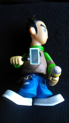 The Easy Ride 演唱會 陳奕迅 Eason Chan 公仔 模型 香港可動玩具 單支