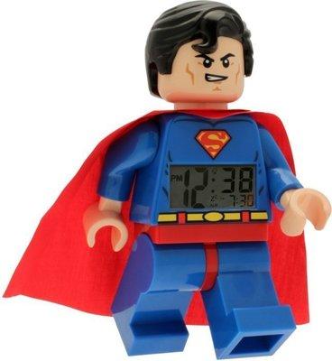雙寶媽咪─ LEGO人偶鬧鐘系列《超人》全新現貨 (下標前請先詢問唷)