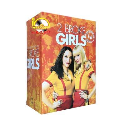 美版純英文美劇DVD碟片2 Broke Girls破產姐妹/打工姐妹花1-6季完