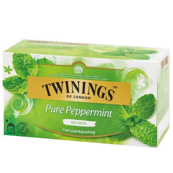 英國《TWININGS》唐寧茶--沁心薄荷茶包 2g*25入/盒