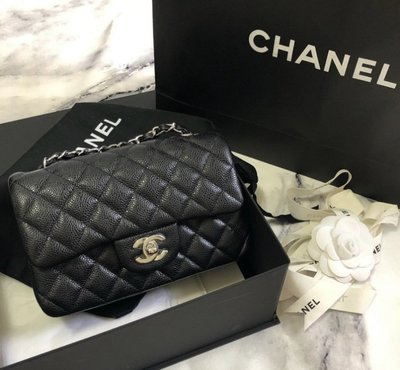Chanel 香奈兒包 A69900 Flap Mini Coco 包 荔枝紋 黑金 台北市