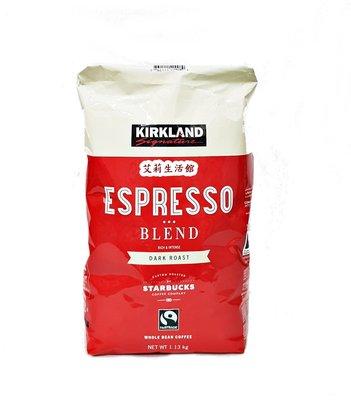 【艾莉生活館】COSTCO KIRKLAND 義式深培咖啡豆1.13 公斤《㊣附發票》
