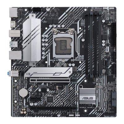 【ASUS華碩】PRIME B560M-A主機板 8相電源供應搭配大型散熱片『高雄程傑電腦』