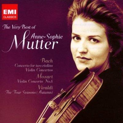 音樂居士*The Very Best of Anne - Sophie Mutter 穆特琴音集 (2CD)*CD專輯