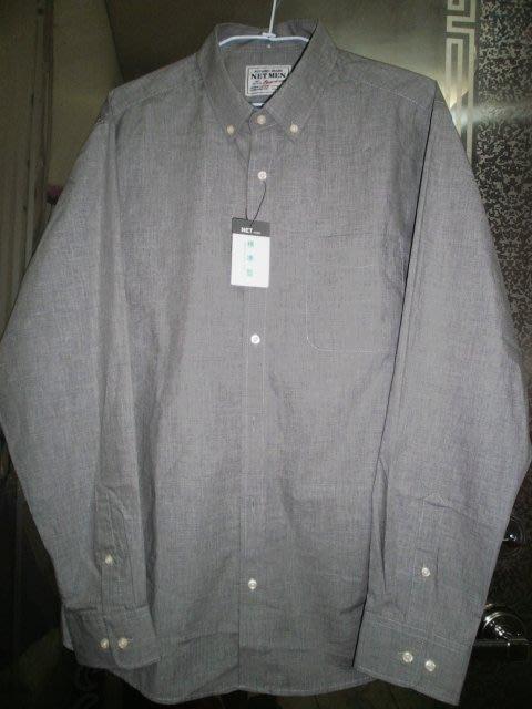 Net全新◎有吊牌◎XL大尺碼◎男士100%棉長袖襯衫/上衣◎390元◎.職場面試工作上班均宜◎可自取免運~
