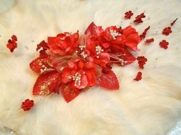 B. & W. world *美美的花飾*R13156***櫻花情緣~*訂婚、結婚、喜慶、特殊活動花飾*