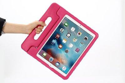 小胖醫療級矽膠 iPad Pro 12.9吋 新款EVA矽膠手提平板保護套 無毒無異味 支架功能 兒童手提便攜防摔平板套