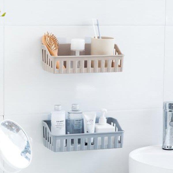 PS樂【CJ1638】衛浴間置物架 免打孔置物籃