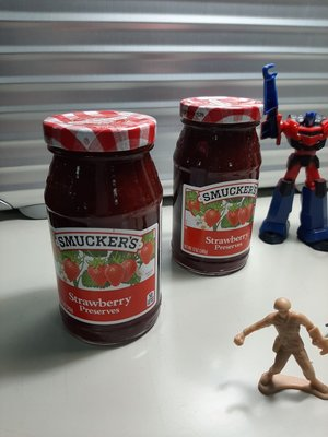 SMUCKER'S美國原裝進口果醬340g 草莓口味(一瓶)