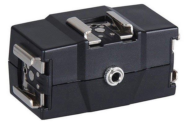 呈現攝影-NICE FLH-08 三外閃熱靴座 通用型 CANON NIKON都適用 有3.5mm同步孔 離機閃 ※
