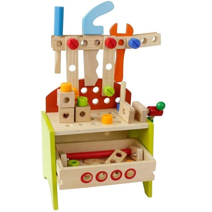 CHING-CHING親親-WOOD TOYS木製玩具組-小小工作台(MSN13023)