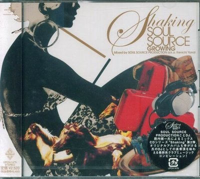 K - Shaking SOUL SOURCE - GROWING  - 日版 CD - NEW PHYSICS