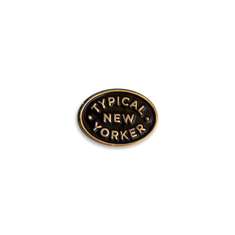 Freaky House-美國Odds And Sods Typical New Yorker典型紐約客別針美國製