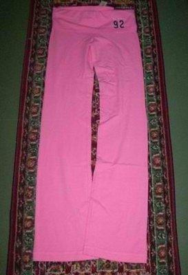 美國Abercrombie & fitch perfect Butt Yoga 淺粉色S號彈性貼腿完美臀型瑜珈運動褲含運在台現貨
