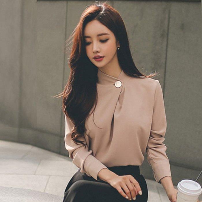 OL職服 韓版Z88675職業氣質上衣/大碼休閒寬鬆時尚顯瘦修身設計款防曬禪風連身裙民族風復古單正品日韓款外套