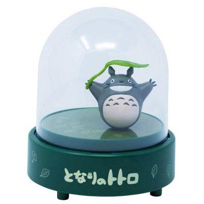 搖擺日雜 日本正版 宮崎駿 吉卜力 龍貓 多多龍 totoro 磁力 旋轉 音樂盒 擺飾