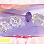【EW】S925純銀DIY材料配件/ 6mm亮銀簍空4瓣...