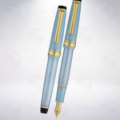 日本 SAILOR 寫樂 SHIKIORI 四季織 雪月空葉14K鋼筆: 春空