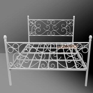 INPHIC-歐式鐵藝床 韓式浪漫鐵藝主臥床 單人雙人鐵床 鐵架床