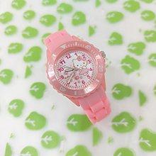 三麗鷗Kitty中硅膠手錶/ 原裝正品/日本機芯/多色彩/台灣製/卡通手錶
