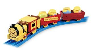 TAKARA TOMY Disney x PLARAIL 維尼森林 夢幻蒸氣機關車 火車