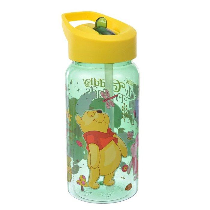 代購現貨 日本迪士尼商品 維尼直飲吸管冷水壺