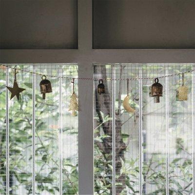 西西里 ~現貨日本進口fog linen work手工復古風鈴掛飾門飾小鈴鐺掛件