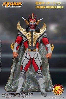 ☆阿Su倉庫☆WWE摔角 NJPW Jushin Thunder Liger 獸神閃電 雷霆萊卡 最新款人偶公仔 熱賣中