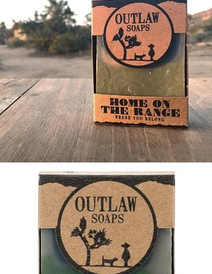 Outlaw Soaps- 牧場 Home on the Range 夏日微風 男士香皂沐浴皂