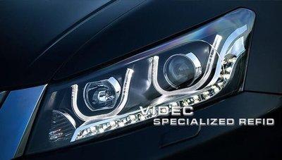 威德汽車精品 HONDA 雅歌 八代 8.5代 08-12 ACCORD K13 大燈 總成 DRL 日行燈 導光 大燈