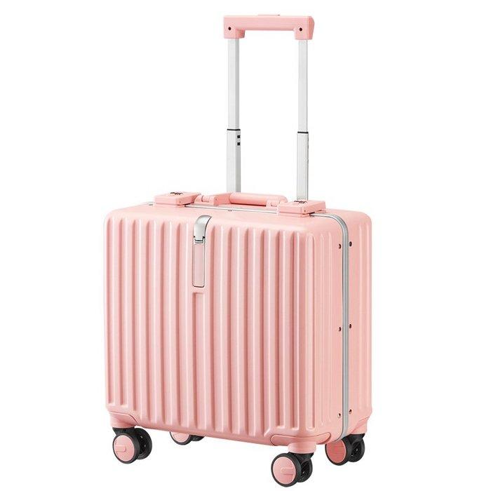 行李箱18寸行李箱女24寸小型輕便登機箱迷你20密碼拉桿箱短途旅行箱16寸(規格不同價格不同)