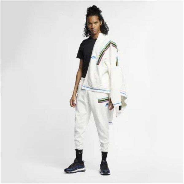 Nike French Terry 白色 彩虹 運動褲 長褲 男款 AR1965-133 -SPEEDKOBE-