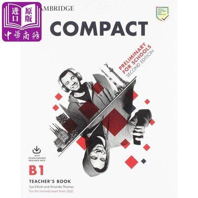 Compact Preliminary for Schools Teachers Book 劍橋PET考試沖刺備考教師用