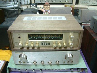 美國 soundcraftsmen 9560 古董木箱 真空管收音擴大機 6v6*4 其他小管13隻 共17隻 聲音甜美