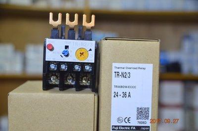 富士 TR-N2/3 三素子、積熱電驛 O.L 、TH-RY 、Overload relay、 Over relay