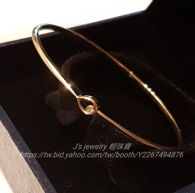 18K金原創設計實心鑽石手環  玫瑰金 白金 手鍊手鐲 Cartier Tiffany agete 風格