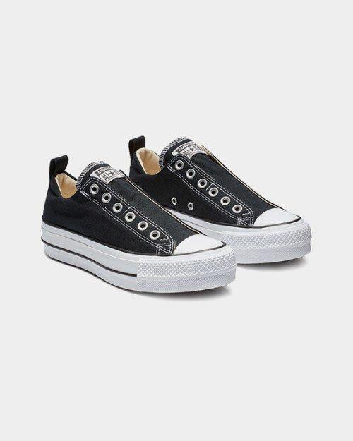 【Luxury】Converse Chuck Taylor All Star 懶人鞋 綁帶款 帆布鞋 女鞋 厚底鞋