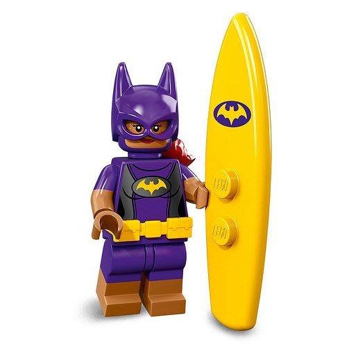 現貨【LEGO 樂高】2018最新 蝙蝠俠電影2 人偶包抽抽樂 人偶系列 71020 | #9 度假 蝙蝠女+黃色衝浪板