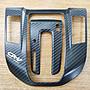 Honda CRV5 CRV 5代 卡夢紋排擋座飾板 內+外...