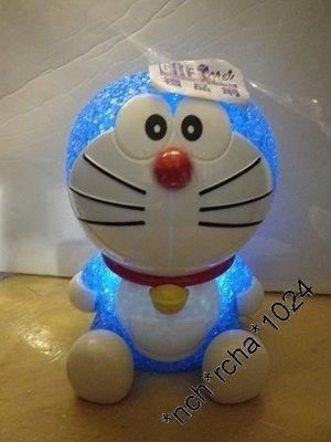 (訂貨)聚苯乙烯/塑料 約11x16x11.5cm 座檯 白光LED燈 乾電池操作 (要另購)Doraemon 哆啦A夢 叮噹 曰本直送 全新品