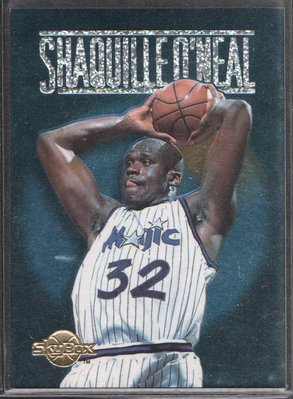 94-95 SKYBOX PREMIUM CENTER STAGE #CS2 SHAQUILLE O'NEAL