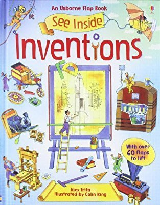 Usborne See Inside inventions Exploration and discovery英文翻翻書