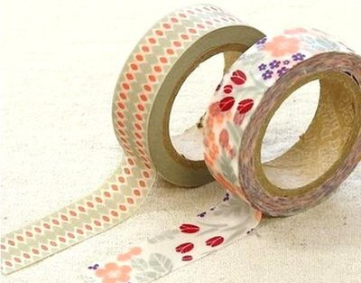 *YOOWOO*C【韓國 Decorate YOUR item 多功能裝飾 15mm 和紙膠帶 貼紙 ~ Versailles 凡爾賽】一組2入