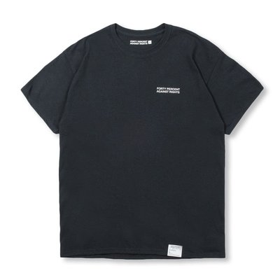 FORTY PERCENT AGAINST RIGHTS SS20 RISER SS TEE 三色